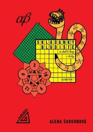 Šarounová Alena: Skládanky, bludiště a další hry s čísly, alfabetník 1