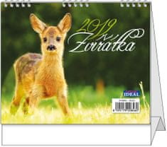 Kalendář stolní Ideál Zvířátka