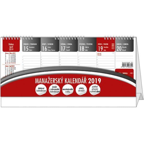 Kalendář stolní pracovní Manažerský