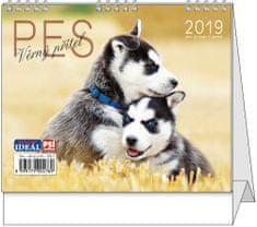 Kalendář stolní Ideál Pes, věrný přítel