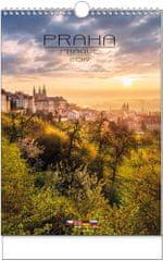 Kalendář nástěnný A3 Praha