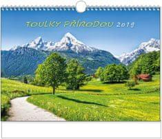 Kalendář nástěnný A3 Toulky přírodou na šířku