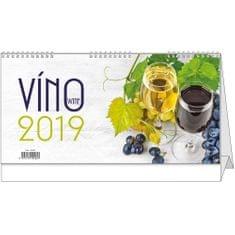 Kalendář stolní žánr. 14 dní Víno
