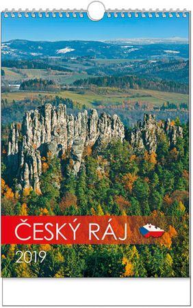 Kalendář nástěnný A3 Český ráj