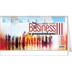 Kalendář stolní pracovní Business III. s poznámkami