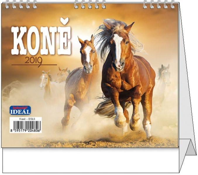 Kalendář stolní Ideál Koně