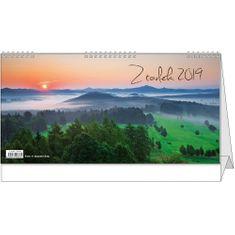 Kalendář stolní žánr. 14 dní Z toulek