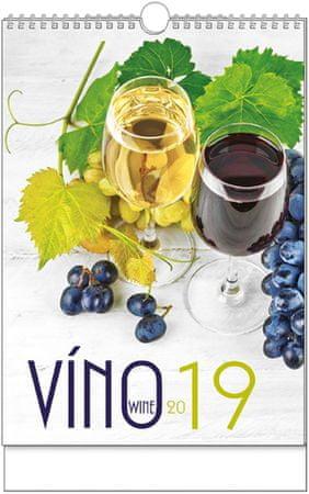 Kalendář nástěnný A3 Víno