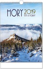 Kalendář nástěnný A3 Hory Čech a Moravy A3