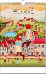 Kalendář nástěnný A3 Art Naive Sylva Prchlíková