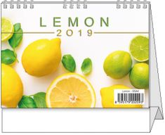 Kalendář stolní pracovní Lemon mini