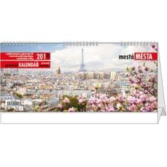 Kalendář stolní pracovní Evropská města