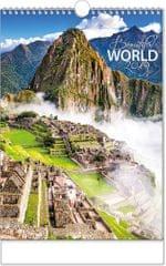 Kalendář nástěnný A3 Beautiful world