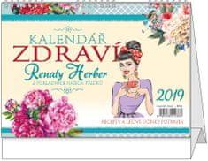 Kalendář stolní žánr. týd. Kalendář zdraví Renaty Herber