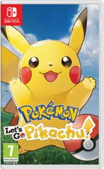 Nintendo igra Pokémon Let's Go, Pikachu! (Switch)