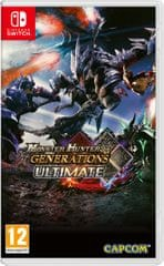 Capcom igra Monster Hunter Generations Ultimate (Switch) - datum izida 26.1.2018
