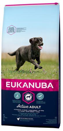 Eukanuba sucha karma dla psa Adult Large - 15kg