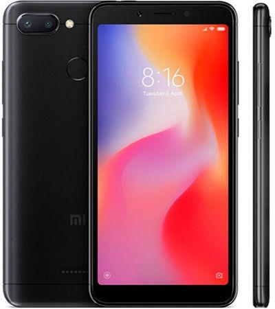 Xiaomi Redmi 6, 3GB/32GB, Global Version, černý