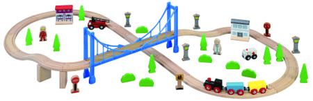 Maxim Vláčkodráha s visutým mostem - 57 ks