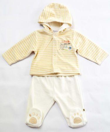 Minoti Detský dojčenský set 50 - 56 béžová