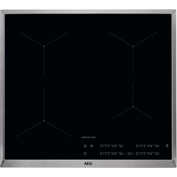 AEG indukční deska Mastery IKB64431XB Hob2Hood