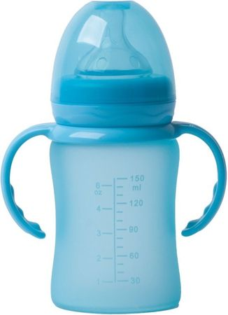 Bo Jungle butelka szklana B-Thermo 150ml, Turquoise