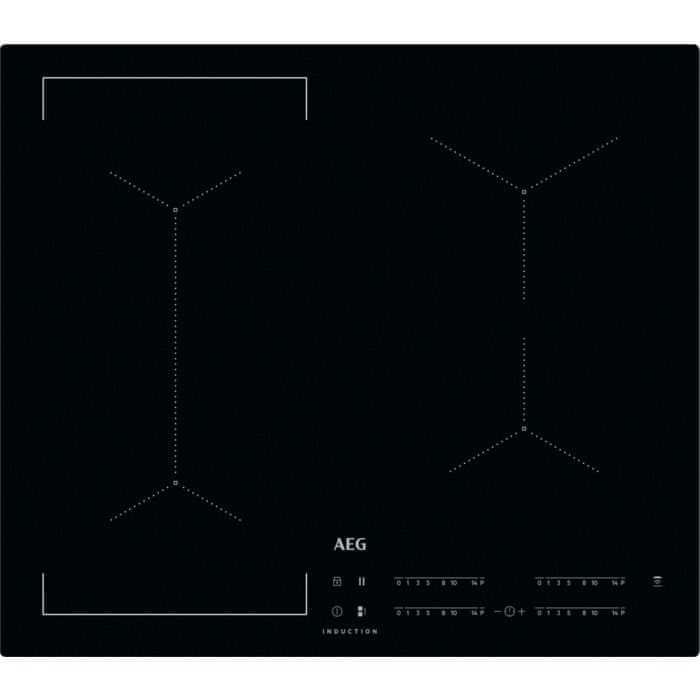 AEG indukční deska Mastery IKE64441IB Hob2Hood