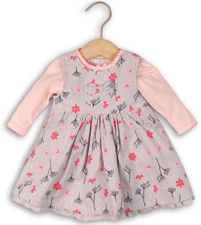 Minoti Ruha és body szett kislányoknak 80 - 86 rózsaszín