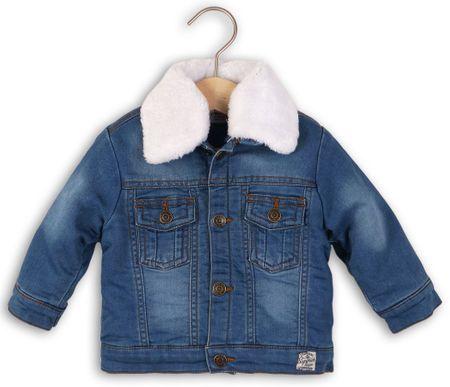 Minoti otroška jeans jakna, 98/104, modra