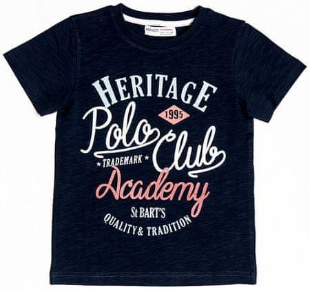 Minoti Chlapčenské tričko Heritage 104 - 110 modrá