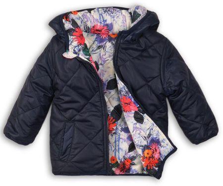Minoti Dívčí oboustranná bunda prošívaná 68 - 80 plava