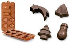 Ibili Forma na čokoládu vánoce