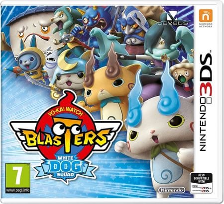 Nintendo igra Yo-kai Watch Blasters White Dog Squad (3DS)