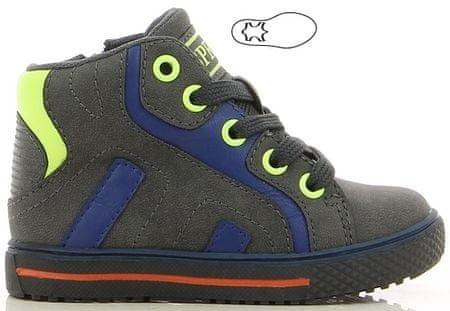 V+J chlapecké kotníkové boty 21 tmavě šedá