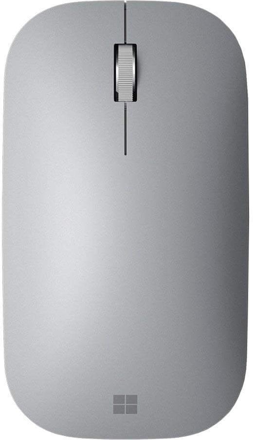 Microsoft Surface Mobile Mouse Bluetooth, stříbrná (KGY-00006)