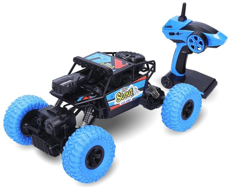 Wiky Rock Buggy Blue RC