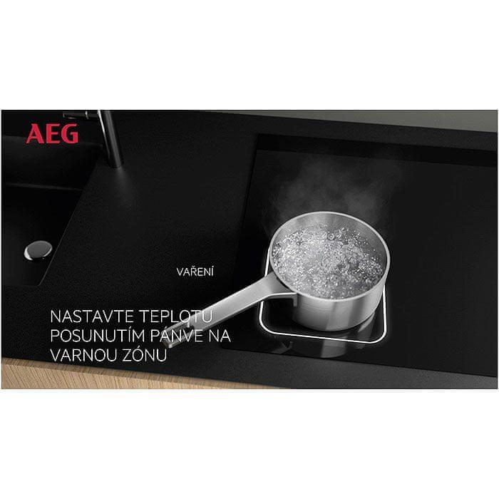 AEG Mastery FlexiBridge IKE85471FB Hob2Hood + 5 let záruka na celý produkt