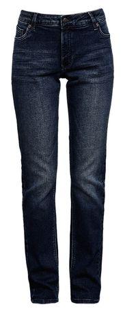 Q/S designed by dámské jeansy 34/30 tmavo modrá