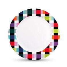 REMEMBER® Porcelánový talíř Colour Caro, 21 cm