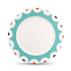 REMEMBER® Porcelánový talíř Dots, 21 cm