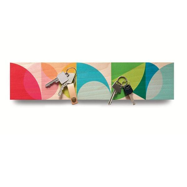 REMEMBER® Věšák na klíče magnetický Solena, 41 cm