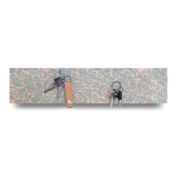 REMEMBER® Věšák na klíče magnetický Florina, 41 cm