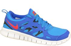 Nike Free 2 Gs 443742-404 37,5 Niebieskie