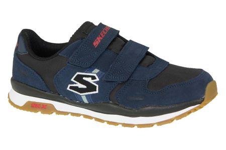 Skechers Throwbax 97360-NVBK 27 Granatowe