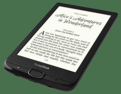 PocketBook czytnik Basic 616 Lux 2, czarny