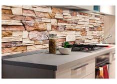 Dimex Fototapeta do kuchyne KI-180-088 Kamenný obklad 60 x 180 cm