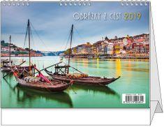 Kalendář stolní žánr. týd. Obrázky z cest