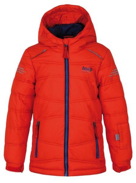Loap dětská lyžařská bunda Falda 134/140 oranžová