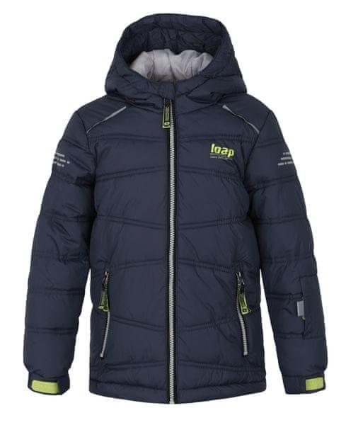 Loap dětská lyžařská bunda Falda 134/140 černá