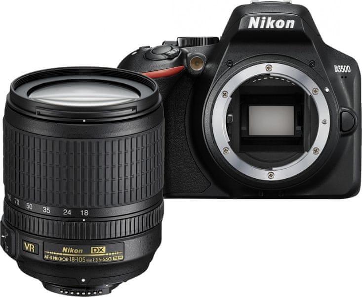 Nikon D3500 + 18-105
